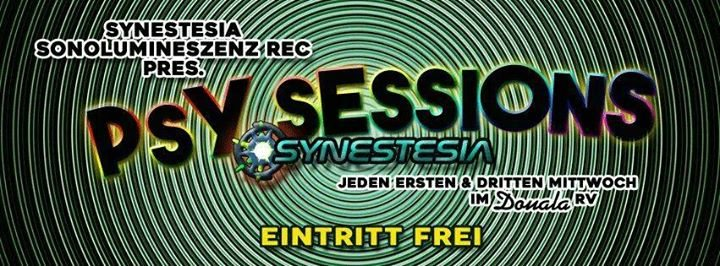 Party Flyer Synestesia & Sonolumineszenz: Psychedelic Sessions - Eintritt frei ! 20 Dec '17, 22:00
