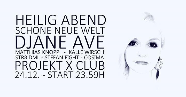 Party Flyer Heilig Abend Schöne neue Welt 24 Dec '17, 23:59