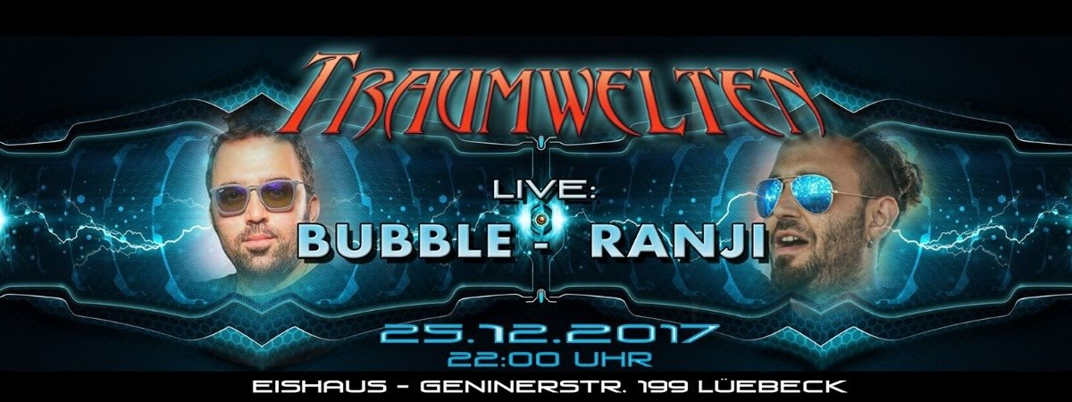 Party Flyer Bubble & Ranji @ Eishaus 25 Dec '17, 22:00