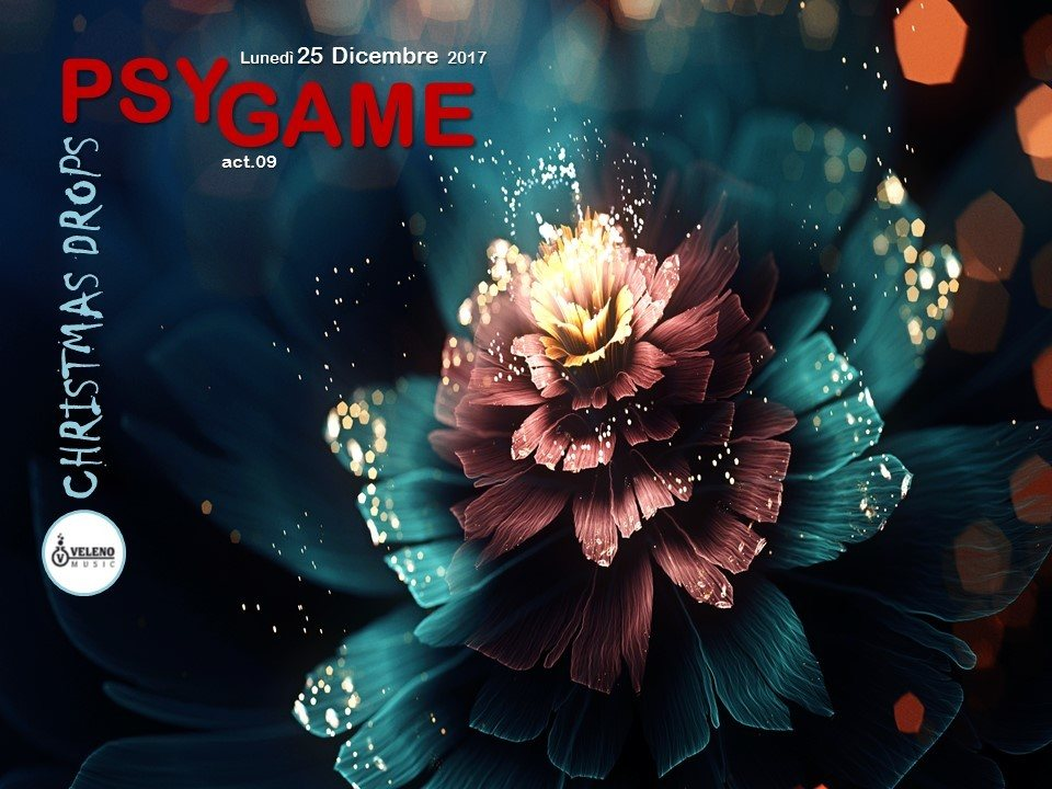 Party Flyer PSY GAME act.09 >> Christmas Drops! 25 Dec '17, 21:00