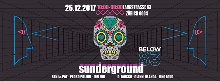 Party Flyer Sunderground Afterhour 26 Dec '17, 10:00
