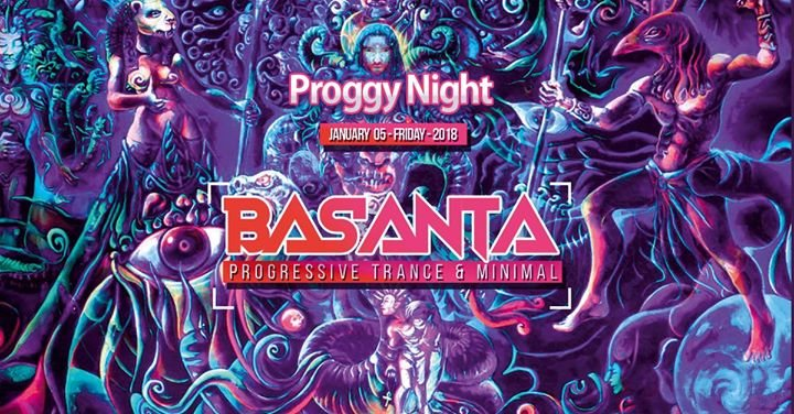 Party Flyer Basanta 5 Jan '18, 23:00