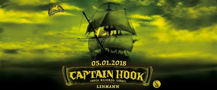 Party Flyer TripPin Free! w/ CapTain HoOK ~ Patara 5 Jan '18, 22:00