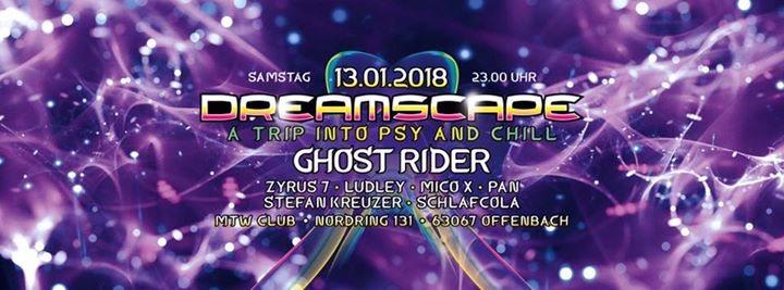 Dreamscape jan 2018 13 Jan '18, 23:00