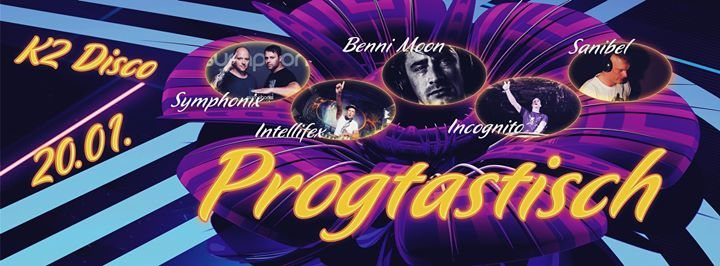Party Flyer ॐ Progtastisch Live Symphonix ॐ 20 Jan '18, 22:00