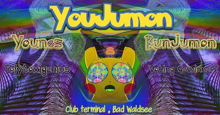 Party Flyer Youjumon w/ Younes & Kunjumon 26 Jan '18, 22:00