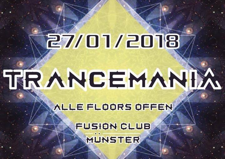 Party Flyer Trancemania: Goa Trance auf 5 Floors 27 Jan '18, 23:00