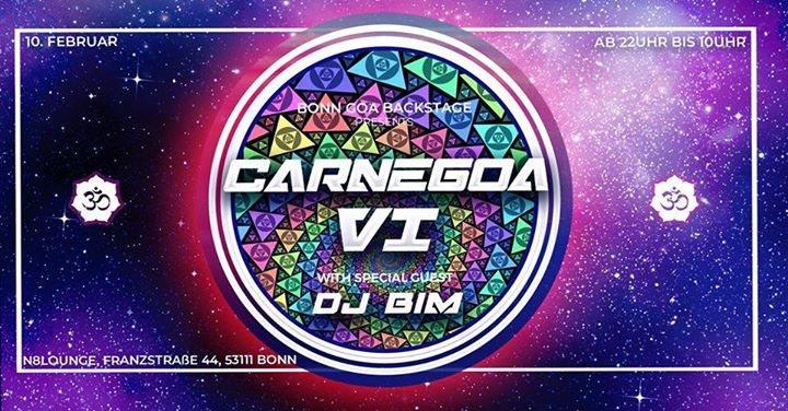 Party Flyer CarneGoa #6 /w BIM 10 Feb '18, 22:00