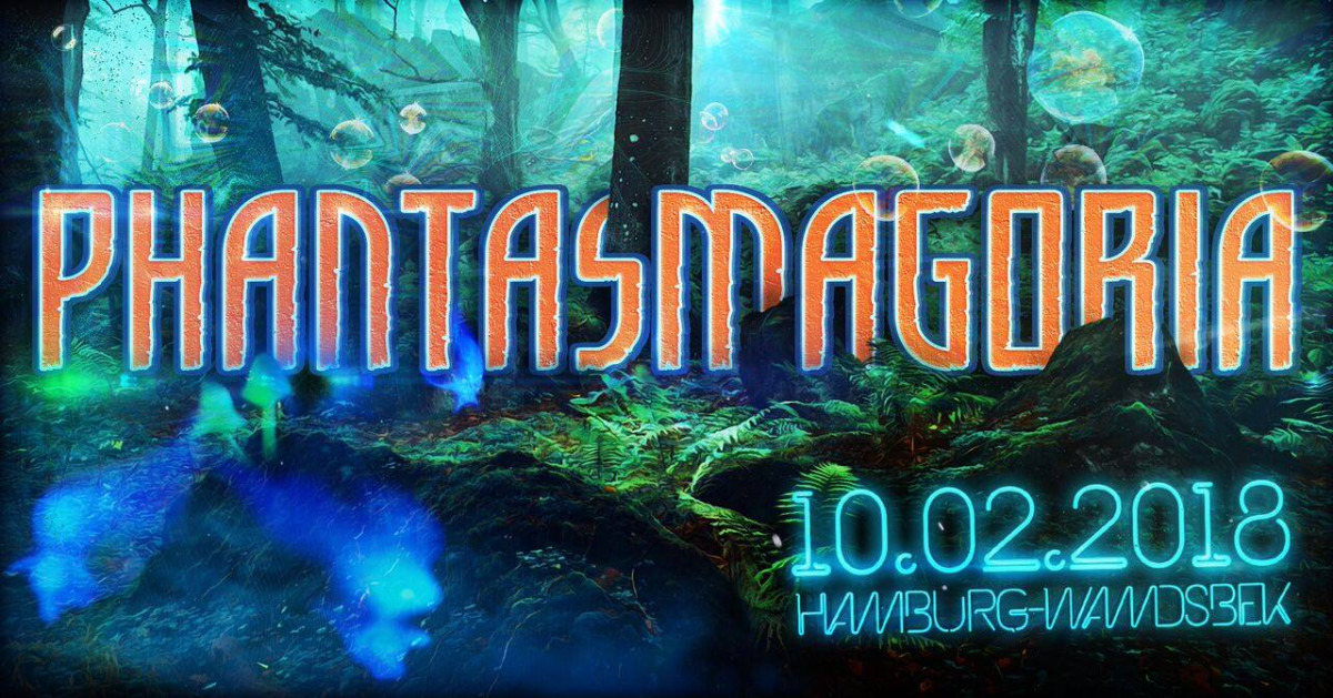 Party Flyer Phantasmagoria 10 Feb '18, 22:00