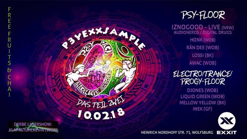 Party Flyer PsyeXXsampel das teil 2 10 Feb '18, 23:30