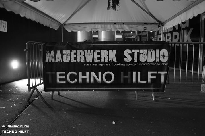 Party Flyer Techno Mauerwerk 10 Feb '18, 23:00