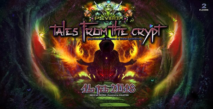 Party Flyer Psybox - Tales from the Crypt 16 Feb '18, 22:00