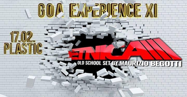 Party Flyer GOA EXPERIENCE XI 17 Feb '18, 23:00