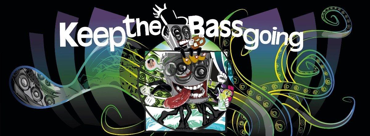 Party Flyer Keep The Bass Going w/Dachgeschoss, Atacama, Metaprog uvm. 17 Feb '18, 23:00