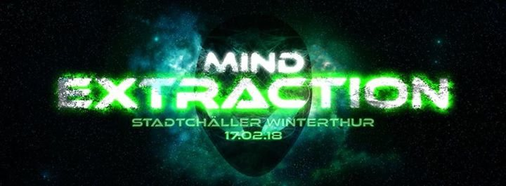Party Flyer Mind Extraction 2 // System Nipel Live 17 Feb '18, 23:00