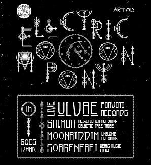 Party Flyer Electric Moonpony 16 Goes Dark… 23 Feb '18, 22:00