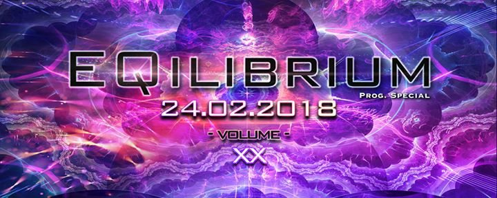 Party Flyer ๑ EQilibrium GOA (Prog. Special) ๑ 24 Feb '18, 22:00