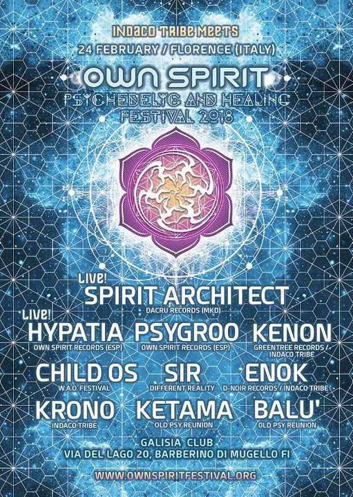 OWN SPIRIT FESTIVAL teaser party 24 Feb '18, 23:00