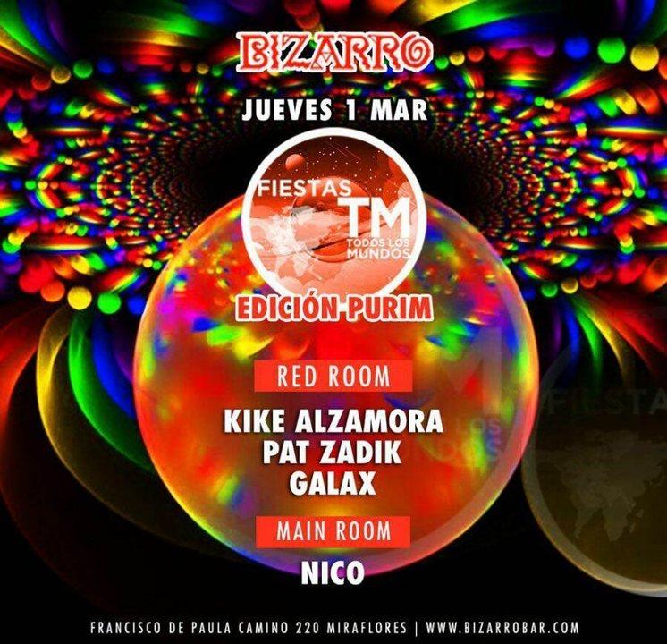 Party Flyer Fiesta Todos Los Mundos 1 Mar '18, 22:30