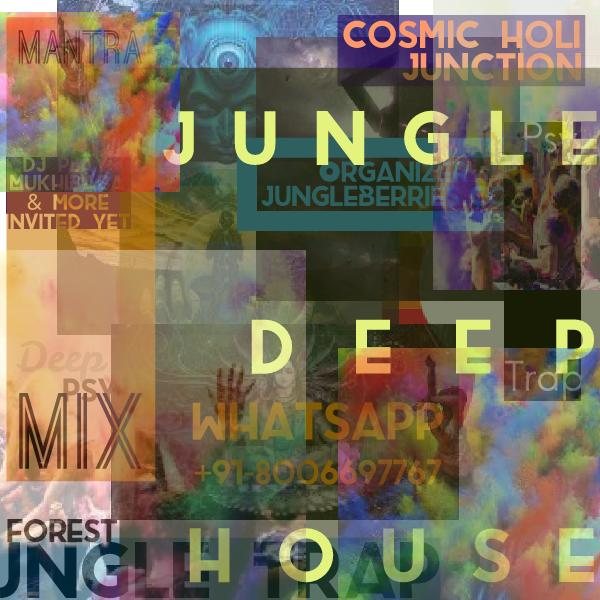 Party Flyer Cosmic Holi Junction 2 Mar '18, 13:00