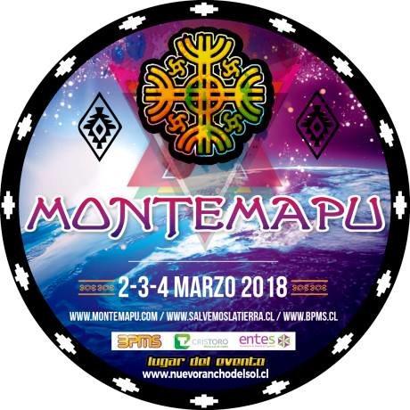 Party Flyer Montemapu Festival 2 Mar '18, 17:00