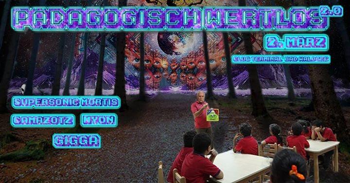 Party Flyer Pädagogisch wertlos vol. 2 // Berberix Bday Blast 2 Mar '18, 21:00
