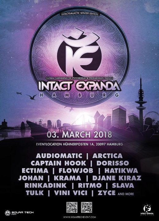 Party Flyer Intact Expanda 2018 3 Mar '18, 21:00