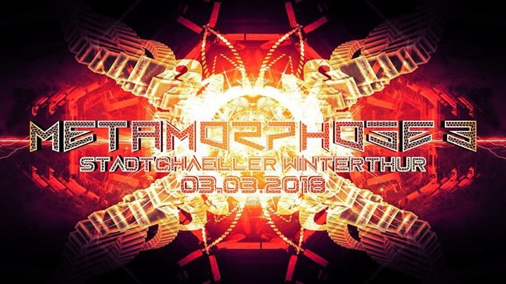 Party Flyer Metamorphose 3 // LSDirty Live 3 Mar '18, 23:00