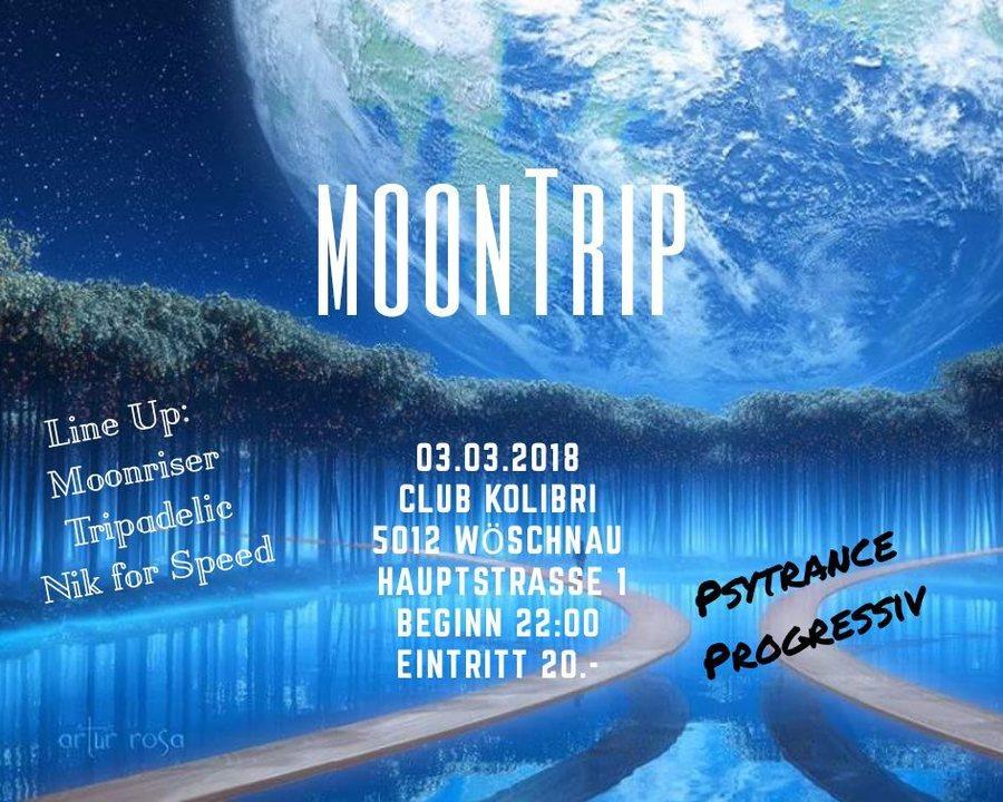 Party Flyer MoonTrip 3 Mar '18, 22:00