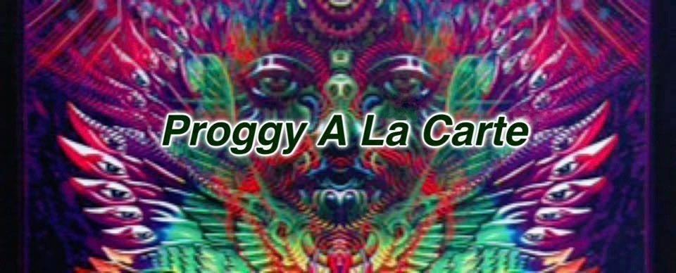Party Flyer Proggy à la Carte 3 Mar '18, 23:00