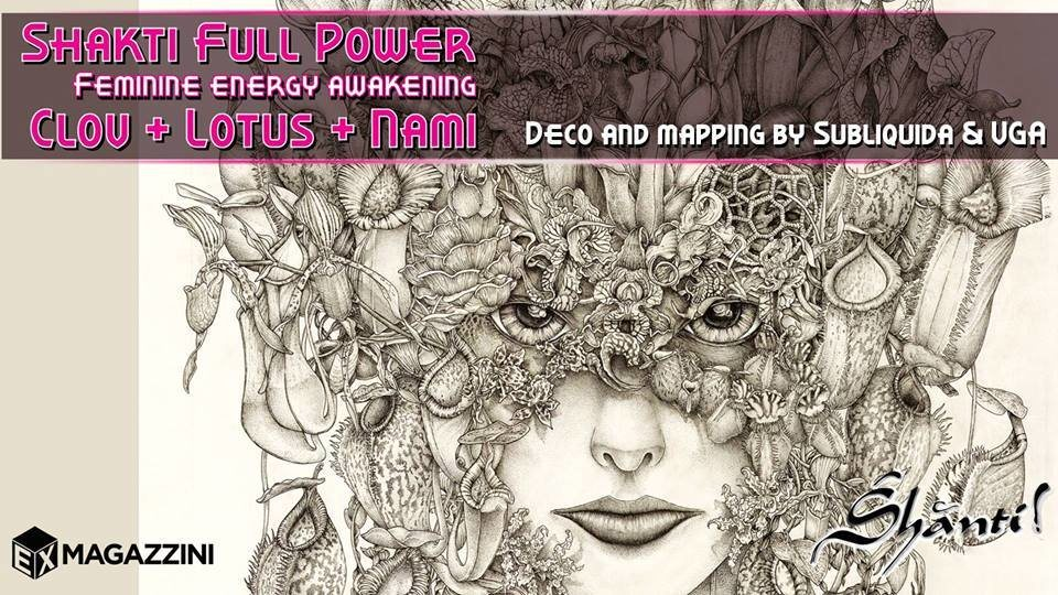 Party Flyer ॐ Shanti! ॐ Shakti Full Power ॐ 3 Mar '18, 22:30