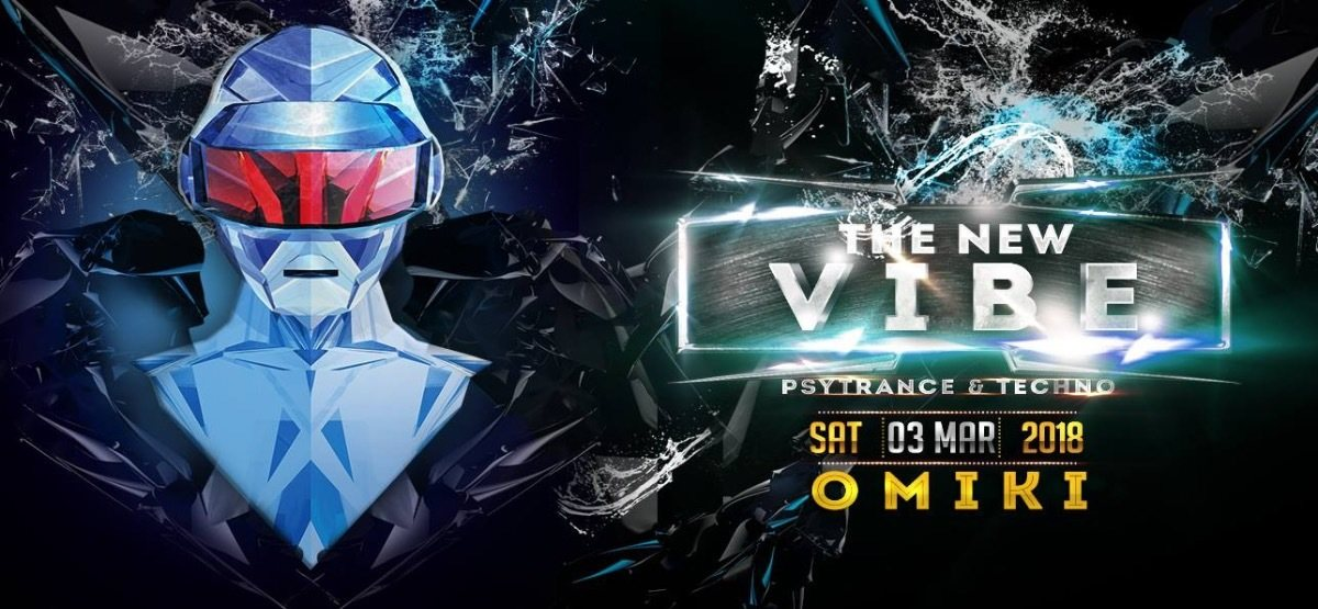 Party Flyer The New VIBE 22 w/ Omiki uvm. 3 Mar '18, 23:00
