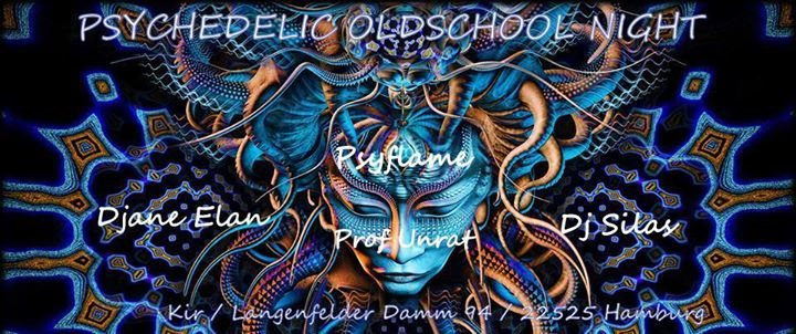 Party Flyer ॐ Psychedelic Oldschool Night ॐ 7 Mar '18, 20:00