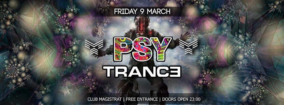 "Party Flyer Monkey Krew Presents: ""Psychedelic Playground 17"" 9 Mar '18, 23:00"
