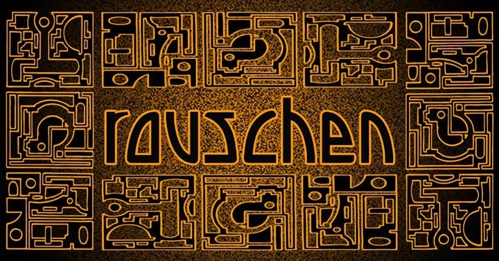 Party Flyer Rauschen. A journey into Psychedelic Trance 9 Mar '18, 23:00