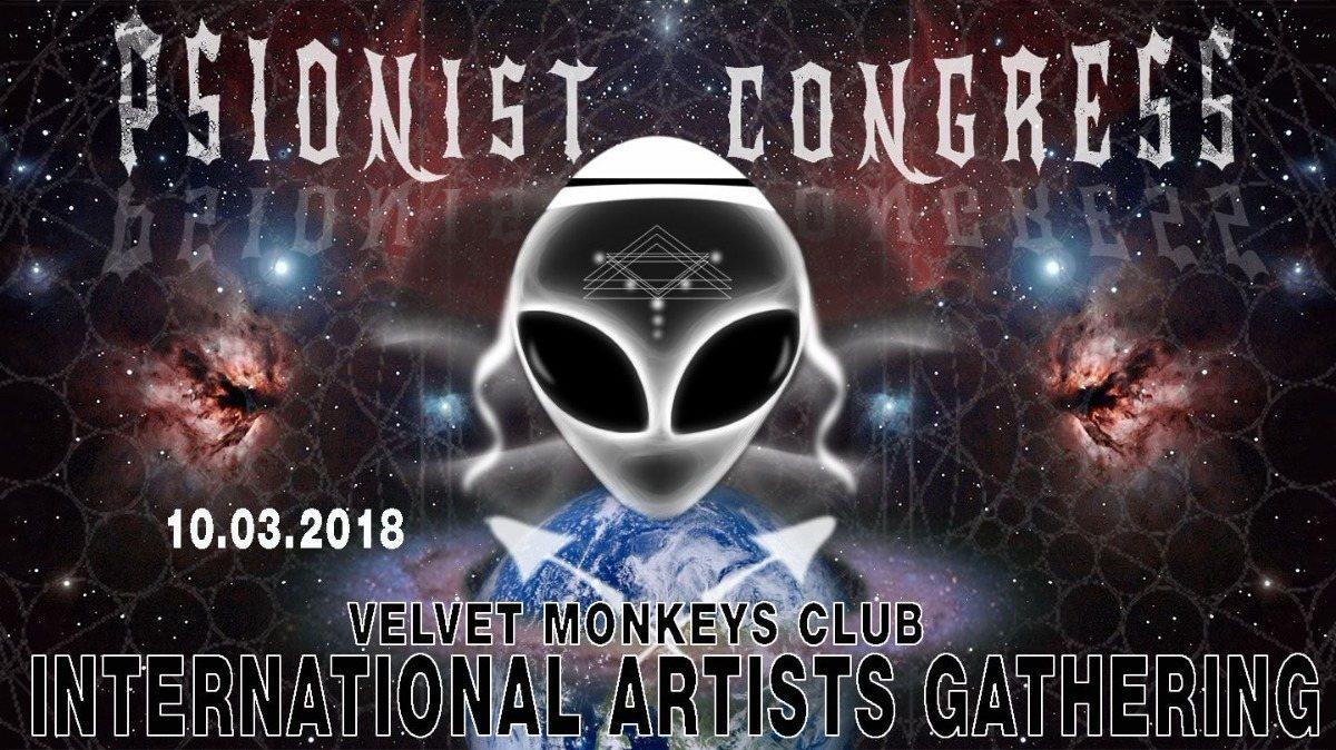 Party Flyer International.Artists Gathering ***3 floors*** DARK&PSYPROG&PSYCHILL 10 Mar '18, 23:00