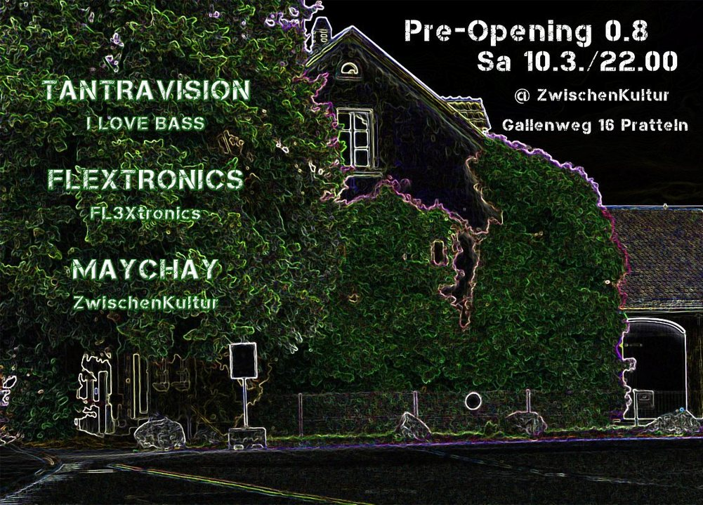Party Flyer Pre-Opening 0.8 10 Mar '18, 22:00