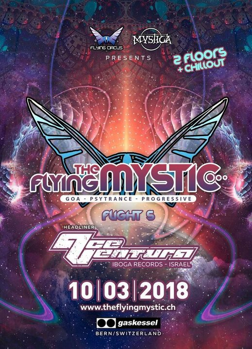 Party Flyer The Flying Mystic Nr. 5 10 Mar '18, 22:00