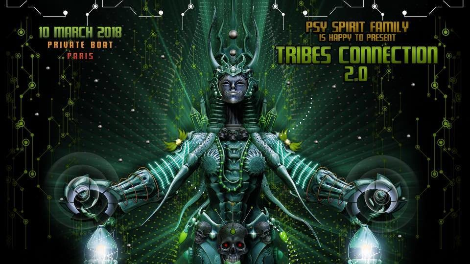 Party Flyer TRIBES CONNECTION 2.0 10 Mar '18, 23:00