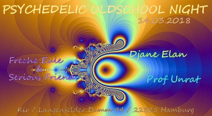 Party Flyer Psychedelic Oldschool Night 14 Mar '18, 20:00
