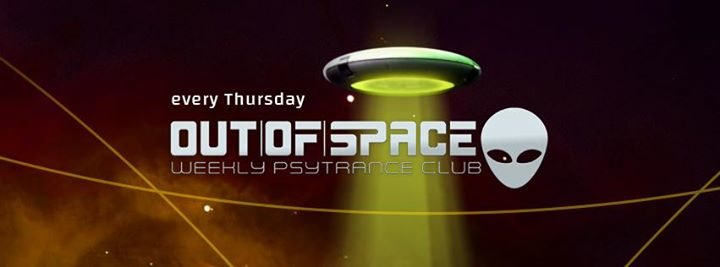 Party Flyer OUT of SPACE Deeprog Special 15 Mar '18, 22:00