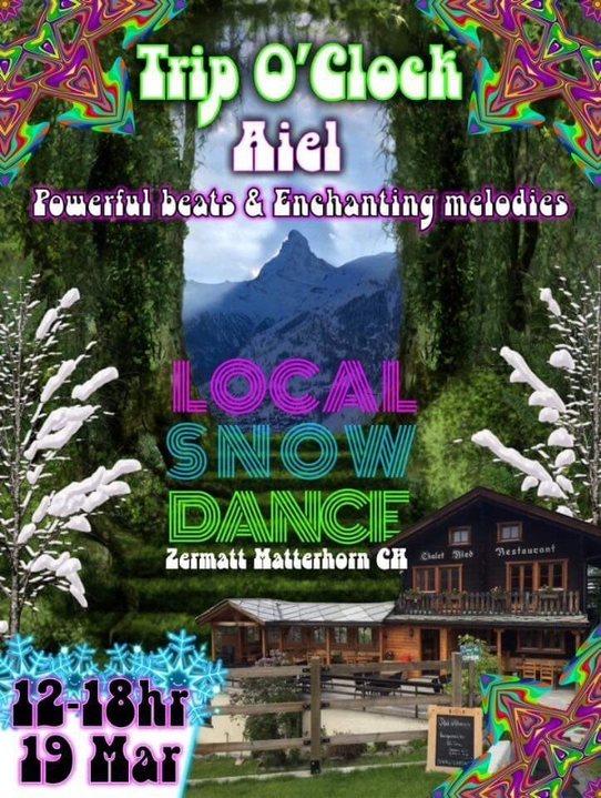 Party Flyer Local Snow Dance 19 Mar '18, 12:00