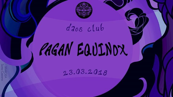 Party Flyer DarkMatter | Pagan Equinox ॐ 23 Mar '18, 22:30