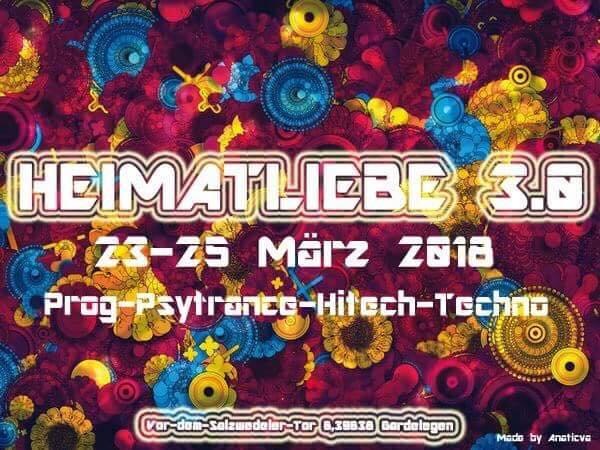 Party Flyer Heimatliebe 3.0 23 Mar '18, 22:00