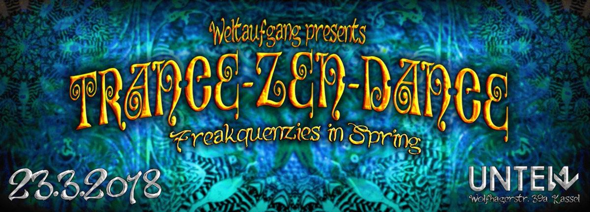 Party Flyer Trance-Zen-Dance 23 Mar '18, 23:00