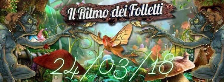 Party Flyer IL RITMO DEI Folletti (Free drink) 24 Mar '18, 23:00
