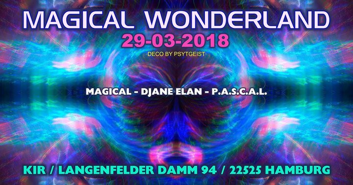 Party Flyer ॐ Magical Wonderland ॐ (Gründonnerstag Edition) 29 Mar '18, 22:00