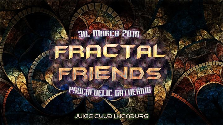 Party Flyer Fractal Friends (Forest & Nightsounds) 30 Mar '18, 23:00