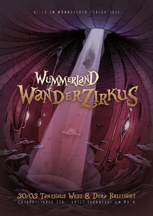 Party Flyer Wummerland Wanderzirkus 30 Mar '18, 01:00