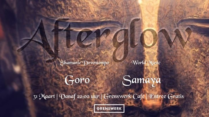 Party Flyer ॐ Afterglow ॐ 31 Mar '18, 22:00